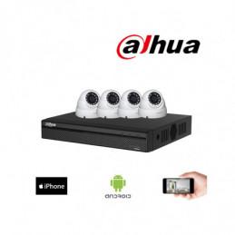 Kit vidéosurveillance HDCVI...