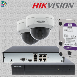 KIT HIKVISION - 2 X DÔME IP...